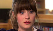 Zooey Deschanel joins Fergus in an episode of Who Do You Think You Are? for The Learning Channel.
